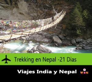 Trekking en nepal agenciadeviajes