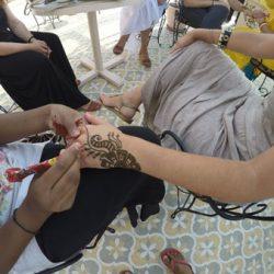 Tatuajes de Henna en embarazadas